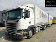 Lastbil med släp Scania G G 410 / Retarder / Lift-Lenkachse / with trailer transportbil bryggeri begagnad