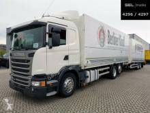 Scania Lastzug Kastenwagen Getränkewagen G G 410 / Retarder / Lift-Lenkachse / with trailer