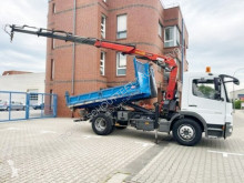 Camion Mercedes Atego 1218 K 4x2 1218 K 4x2 mit Kran Palfinger PK9501 benne occasion