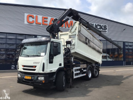 Ginaf tipper truck C3128N Hiab 16 ton/meter laadkraan