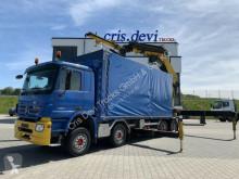 Ciężarówka Plandeka Mercedes Actros 4154 8x4 PM 63 SP + Jib + Seilwinde | Retarder
