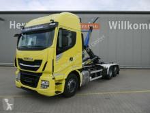 Camión Iveco Stralis AS 260S48 Y/PS Stralis*PalfingerT20-31*Lift/L Gancho portacontenedor usado