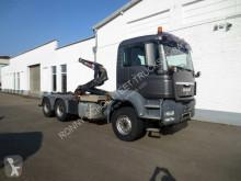 Camion MAN TGS 26.440 6x4 BL 26.480 6x4 BL Hiab XR21 ZR51 mit Schub- Knickarm polybenne occasion