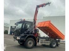 Camion Iveco Eurocargo ML140E25WS 4x4 ML140E25WS 4x4, Kran Fass F80A.21 tri-benne occasion