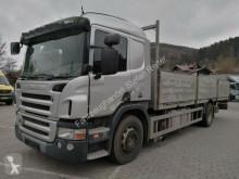 Camión caja abierta teleros Scania P P 340 großes Haus 1 Bett