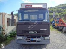 Ciężarówka furgon furgon drewniane ściany Iveco Eurocargo 120 E 15