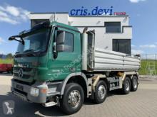 Camion tri-benne Mercedes Actros 3248 8x4 Meiller Dreiseitenkipper Bordmatik L&R