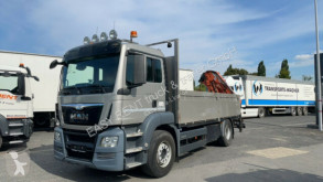 Caminhões estrado / caixa aberta caixa aberta MAN TGS 18.400 TGS Schaltgetriebe / Terex Kran