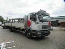 Lastbil flatbed sidetremmer MAN TGM 15.280 TGM Pritsche, 8,20 m, Klima, AHK