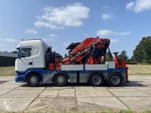 Caminhões Scania R 490 estrado / caixa aberta usado
