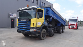Camion benne Scania 124 - 420 (MANUAL GEARBOX / MANUAL PUMP / STEEL SUSP)