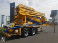 Ciężarówka DE BUF ST2 Sermac Pumpe 28m/Mischer 9m³ pompa do betonu używana