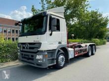 Mercedes skip truck Actros 2641 6x4 Meiller RK 20.65/Retarder/D-LKW