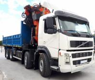 Kamyon damper Volvo 420 BASCULANTE VOLQUETE 8X4 PALFINGER 72002+JIB