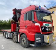 Камион MAN 480 8X4 PALFINGER 74002+JIB AÑO 2008 втора употреба
