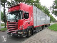 Camion bétaillère bovins Scania 144-460