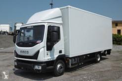 Ciężarówka furgon furgon drewniane ściany Iveco Eurocargo ML 75 E 19 P