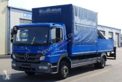 Caminhões estrado / caixa aberta caixa aberta Mercedes Atego 1224*Euro5*TÜV*Palfinger PK7000*Klima*