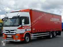Camion savoyarde Mercedes ACTROS 2532 / 6X2 / L: 9,55 M / 62 M3 / EEV