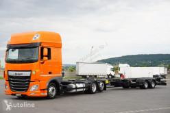 Caminhões chassis DAF 106 / 460 / SSC / ACC / EURO 6 / ZESTAW BDF / 2 X 7,8 M + remorque châssis