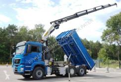 Ciężarówka platforma MAN TGS 26.400 6x4x2 Palfinger PK 23002 Crane Kipper