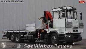 Камион Renault Premium 320 платформа превоз на метални профили и тръби втора употреба