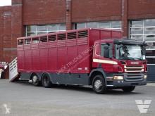 Camión remolque ganadero para ganado bovino Scania P 340