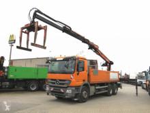 Camion platformă Mercedes Actros 2641 6x4 Pritsche Heckkran Blatt, Atlas, deutsch