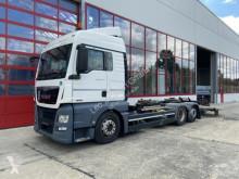 Camião chassis MAN TGX 26.440, Multiwechsler + Ladebordwand 3 Achs