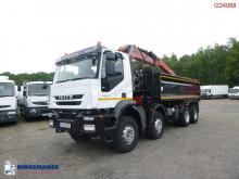 Camion Iveco AD340T36 RHD tipper + Hiab 1282 DK-2 Duo benne occasion