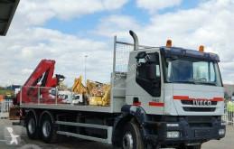 Lastbil flatbed Iveco Trakker 360