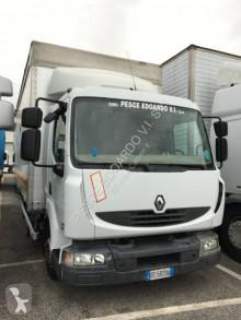 Teherautó Renault Midlum 220 használt függönyponyvaroló
