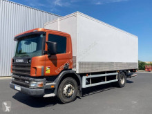 Scania D 94D220 truck used plywood box