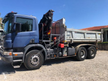 Camion Scania P 380 benne Enrochement occasion