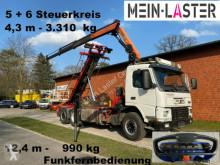 Camion polybenne Volvo FM 12-420 PK 16502 C 12m - 1.000 kg Funk FB