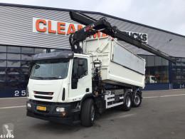 Ginaf tipper truck C 3128 N Hiab 21 ton/meter laadkraan