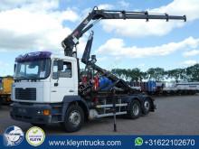 MAN hook arm system truck 26.314