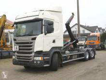 Грузовик мультилифт Scania R 410 6x2 Abollkippe Lenk+Lift deutsch