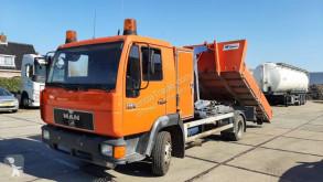 卡车 双缸升举式自卸车 曼恩