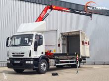Camion Iveco Eurocargo rideaux coulissants (plsc) occasion