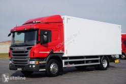 Camión furgón Scania P 250 / E 6 / KONTENER / 17 ALET / ŁAD. 9166 KG / MAŁY RZEBIE