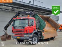 Ciężarówka wywrotka trójstronny wyładunek Scania P114