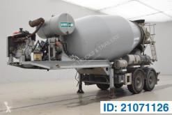 Remorque toupie / Malaxeur MOL Mixer 10M³