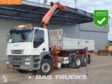 Camión volquete volquete bilateral Iveco AD260S43 6x2*4 Crane Kran Palfinger PK16502 Remote