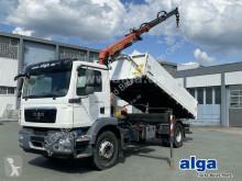 Camion MAN 18.290 TGM 4x2, Kran Palfinger PK11001-K, Funk tri-benne occasion