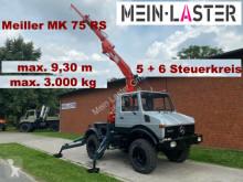 Camion scarrabile Unimog U 1000 Meiller Kran 9,30 m max. 3 t