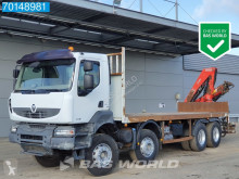 Lastbil Renault Kerax 450 flatbed brugt