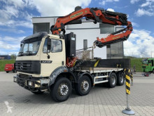 Mercedes hook arm system truck SK 3238 8x4 Palfinger PK 44002 + Jib + Seilwinde