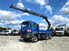 Camion MAN TG-S 28.400 6x4-4 BL Pritsche Heckkran kein HydrodriveHiab 288 EP +Funk polybenne occasion