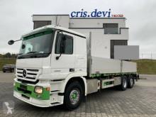 Camion plateau ridelles Mercedes 2555 6x2 V8 | Retarder | Euro 5